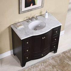 Stufurhome GM-2206-40ES 40-in Grand Cheswick Single Sink Bathroom Vanity | ATG Stores
