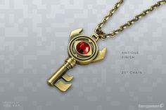 #Zelda Boss Key Necklace by Fangamer ($18)