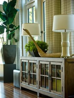 HGTV Dream Home 2013: Great Room Pictures : Dream Home : Home & Garden Television  like the merchandising