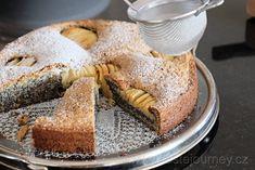 Makový koláč s jablky