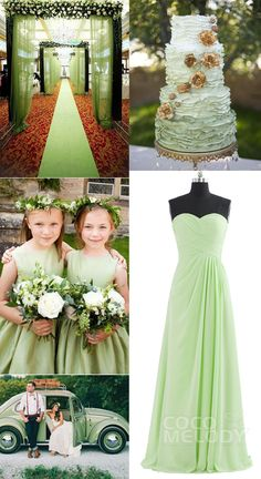 $89.All sizes and 84 colors are available COZF1401D. #greenwedding  #cocomelody  #bridesmaid #dresses