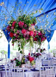 beautiful color from Karen Tran Florals