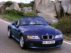 BMW Z3 Roadster Montreal Blue.  My o' Mine !!!
