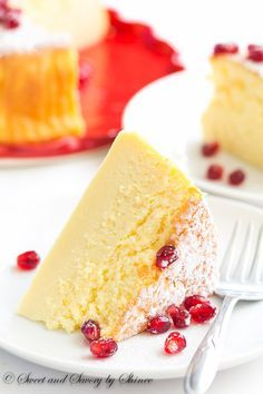 3-Ingredient Soufflé Cheesecake - This melt-in-your-mouth light and delicate soufflé cheesecake is made with only 3 ingredients that you probably have on hand.
