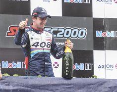 La quinta fecha de #STC2000 finalizó con dos leones en el podio: Canapino 2do y Girolami 3ro.