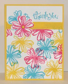 Flower Shop Thank You Card by Yapha