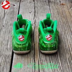 "Nike Air Foamposite One ""I've Been Slimed"" Custom"