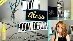 glass bottle diy - YouTube