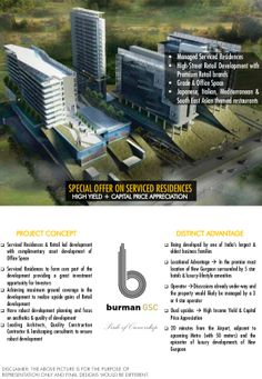 8882512345 ,Burman GSC New Launch Serviced Residencies in gurgaon by Mnc Propmart via slideshare