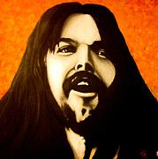 Rock And Roll Paintings - Bob Seger by Justin Coffman