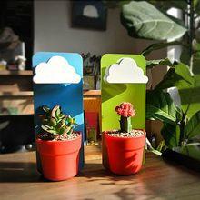 クリエイティブの2015新しい到着は、クラウド雨ポット壁掛け植物フラワーポット花瓶庭ホームデコレーション装飾位に設計70201(中国(本土))