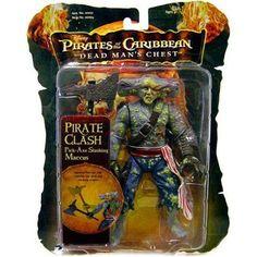 Pirates of the Caribbean Pirate Clash Maccus Action Figure [Pick Axe Slashing], Multicolor