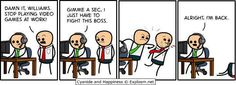 My favorite Cyanide from Happiness comic ever. LoL