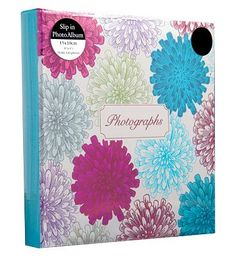 Anker Multi flower Burst Photo Album 6x4 - 140 36 Advantage card points. This vibrant multi flower burst photo album is a stylish way to keep your treasured pictures in one place. FREE Delivery on orders over 45 GBP. (Barcode EAN=5012128356322) http://www.MightGet.com/april-2017-1/anker-multi-flower-burst-photo-album-6x4--140.asp
