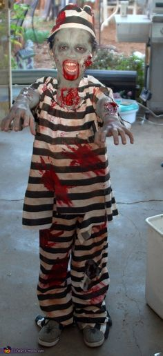 Zombie Chimp Costume - Mens Costumes and Halloween costumes - zombie halloween ideas
