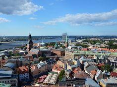 Bird's-Eye View of Riga