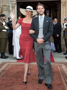 Princess Claire and Prince  Felix of Luxembourg