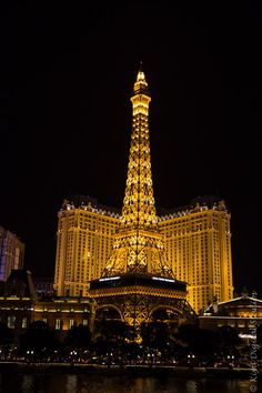 Las Vegas. Stayed here in Paris Hotel. Went up in this Eiffel Tower. Beautiful time!