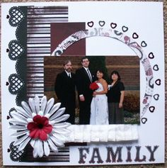 How to Make A Paper Bag Scrapbook – Scrapbooking Fun! Wedding Scrapbook Pages, Love Scrapbook, Scrapbook Storage, Scrapbook Layout Sketches, Scrapbook Designs, Scrapbook Albums, Scrapbooking Layouts, Scrapbook Cards, Picture Scrapbook