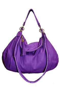 Love this Onna Ehrlich hobo. Great color for spring but if purple isn't your thing it comes in 10 other colors!