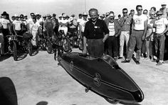 Just A Car Guy: New photos of Burt Munro and his first time at Bonneville have been found Burt Munro, Home Guard, Indian Scout, Sidecar, First Time, Bike, Motorcycle, Guy, Spirit