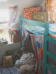 -In this Article You will find many Creative Camper Van Baby Bed Ideas. Hopefully these will give you some good ideas also.
