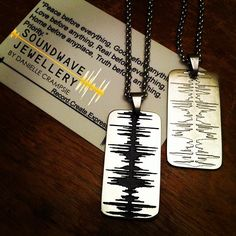 """Rolling out this #readytowear line very slowly .... Men's """"priority"""" #dogtags are now available! #soundwavejewellery #soundwavejewelry #mensjewelry #men #dogtag #dope #jewelry #dj #music #producer #digitalife #studiolife #qualityoverquantity #soundwaves"""