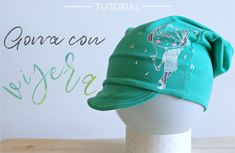 Tutorial Gorra con visera , aprende a hacer esta gorra tan mola con patrón gratuito en 10 tallas. Te encantará!