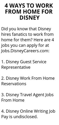 4ca208b68 4 WAYS TO WORK FROM HOME FOR DISNEY - Wisdom Lives Here Creative Jobs,  Organization