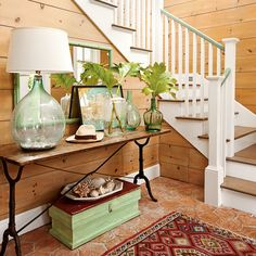 14. Cozy Cottage Entry - Our Most Repinned Rooms Ever - Coastal Living