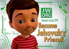 Make as a magnet or print on bags for kiddos. JW.ORG