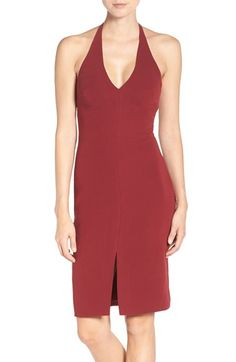 Free shipping and returns on Likely 'Matteson' Halter Sheath Dress at…
