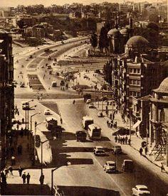✿ ❤ Bir Zamanlar İSTANBUL,  Aksaray, İstanbul 1959