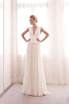 Gemy Maalouf vestido de novia colección Otoño - Invierno 2014/2015.