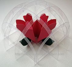 Paper weight slice form with template
