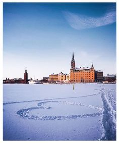 Beautiful Places, Beautiful Pictures, Gothenburg, Stockholm Sweden, Landscapes, Hearts, Europe, Snow, Country