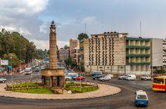Miazaiya 27 square, and monument, Arat  kilo, :Addis Ababa, Ethiopia