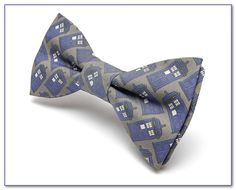 Doctor Who Bow Tie   Pretied Double Bow Tie  by TheDirectorsCabin, $22.00