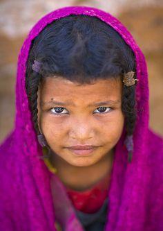 ˚Rashaida Tribe Girl, Kassala, Sudan