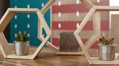 Além de fácil de fazer, os nichos dão um charme na disposição de objetos