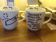 Utah, Tennessee, Thailand, eid gift for parents. Sharpie on mug, in cold oven bake at 425 for 30 minutes, let cool, then take out, voila, easy peasy