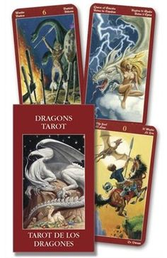 Book Dragons Tarot Mini by Lo Lo Scarabeo
