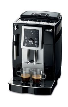 DeLonghi - Super Automatic Espresso and Cappuccino Machine - Direct-to-brew system with Thermo Block technology. Removable used coffee container and drip tray. Machine A Cafe Expresso, Espresso Machine Reviews, Best Espresso Machine, Cappuccino Maker, Espresso Maker, Espresso Coffee, Latte Maker, Coffee Type, Best Coffee