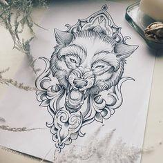 Библиотека эскизов для татуировок | ВКонтакте