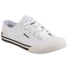 096d21e1db3f Jazzin Lace Up White Sneakers. White SneakersWhite ShoesRocket DogsLace ...