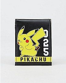 025 Pikachu Pokemon Bifold Wallet