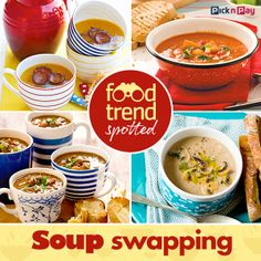 Here's a food trend you'll love! Have a party with your favourite friends and stock up your freezer with scrumptious in one go. Food Trends, Winter Food, Tis The Season, Freezer, Soups, Delish, Recipies, Fresh, Friends