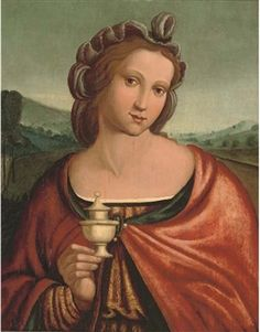 View The Magdalen Circle Francesco Bacchiacca; Access more artwork lots and estimated & realized auction prices on MutualArt. Mary Magdalene, Italian Painters, John The Baptist, Holy Family, Fashion History, Fresco, Mystic, Medieval, Mona Lisa