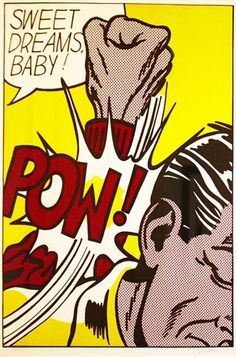 """""""Sweet Dreams Baby!"""" is one of Lichtenstein's earliest, and arguably is amongst his most important prints."""