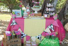Farm Girl Party Table